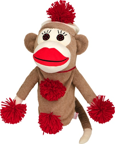 daphne's monkey made of sockies golf headcover