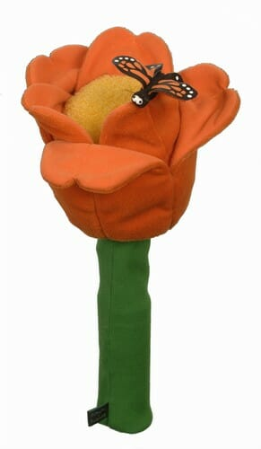 Orange Tulip Golf Headcover