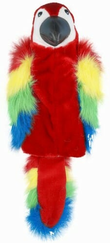 Red Parrot Golf Headcover