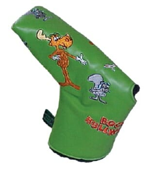 Rocky and Bullwinkle Putter Cover