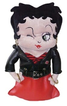 Betty Boop Rock and Roll Golf Headcover