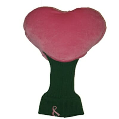 Pink Heart Golf Headcover