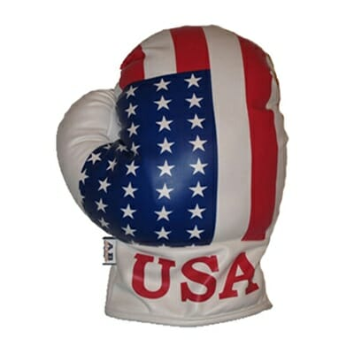 USA Boxing Glove Driver Golf Headcover