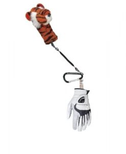 Golf Headcover Leash with Glove Clip