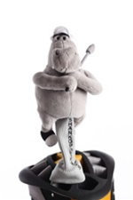 shankopotamus gray fairway golf headcover