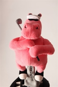 shankopotamus pink golf headcover
