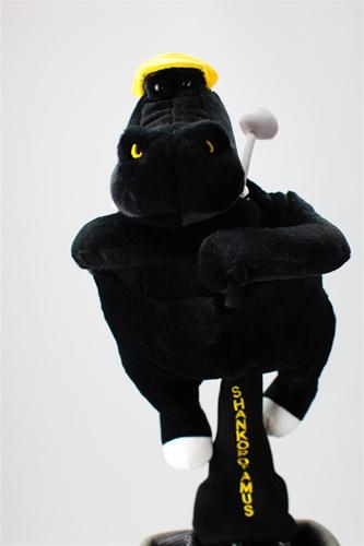 Shankopotamus Black Golf Headcover