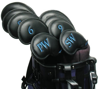 proactive soft-eze iron protection golf club headcover