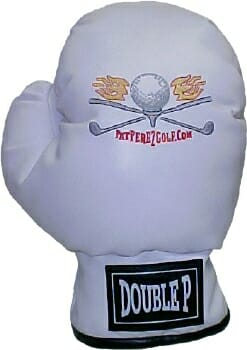 Pat Perez White Boxing Glove Golf Headcover