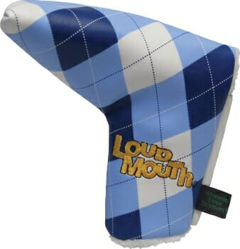 Loudmouth Blue and White Putter Cover