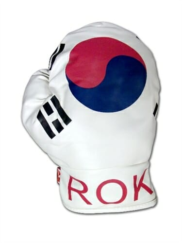 Korean Flag Boxing Glove Golf Club Headcover
