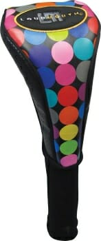 Loudmouth Disco Balls Black Driver Golf Headcover