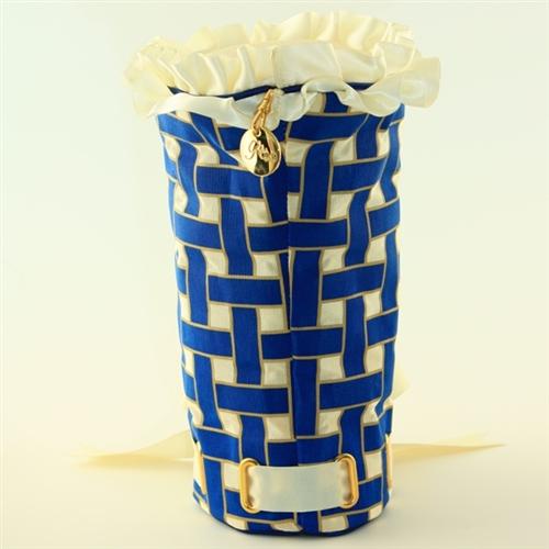 """""""Plaid for Show"""" Blueberry/Cream Basket Headcover"""