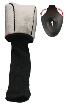 Form Fit  Driver Golf Headcover - Gray