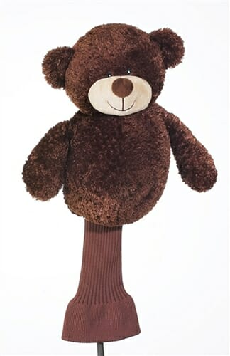 creative covers for golf backspin bear golf headcover