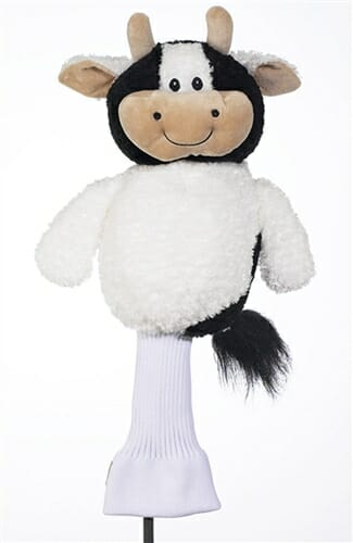 creative covers caddy cow golf headcover