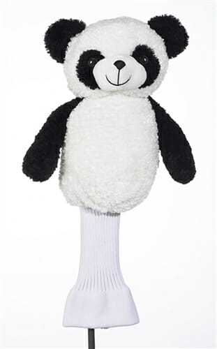 creative covers putt putt the panda golf headcover