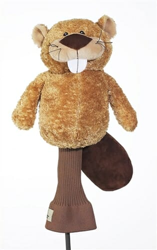 creative covers birdie beaver golf headcover