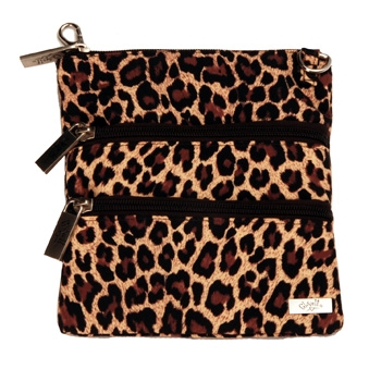 Leopard 3 Zip Bag