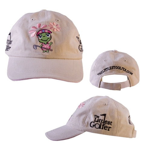Girls Littlest Golfer Tournament Cap (Sandy)