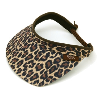 Leopard Visor