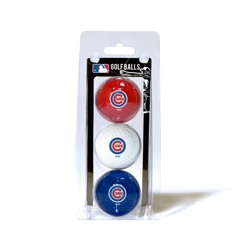 Chicago Cubs 3 Ball Pack