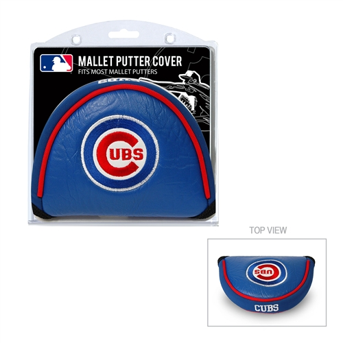 Chicago Cubs Mallet Putter Cover