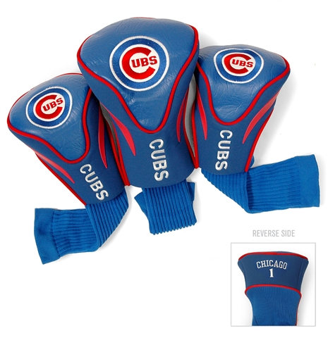 Chicago Cubs 3 Pk Contour Headcover Set