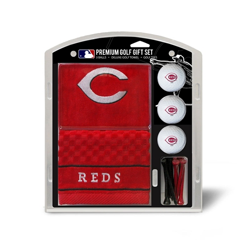 Cincinnati Reds EmbroideReds Towel Gift Set
