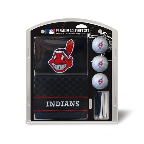 Cleveland Indians Embroidered Towel Gift Set