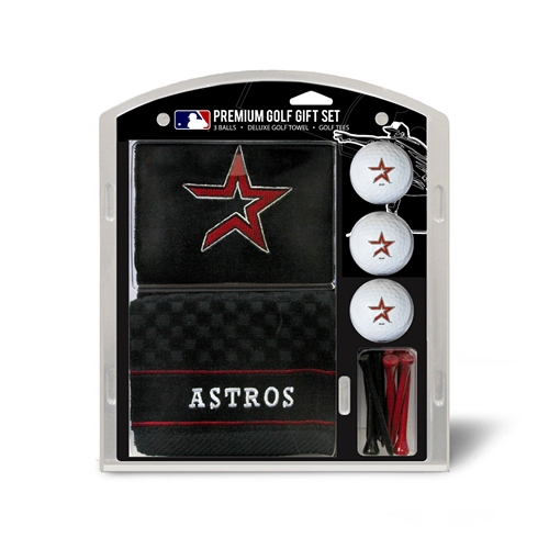 Houston Astros Embroidered Towel Gift Set