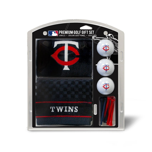 Minnesota Twins Embroidered Towel Gift Set