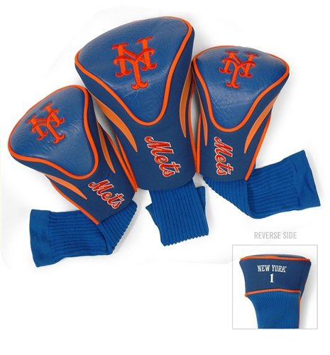 New York Mets 3 Pk Contour Headcover Set