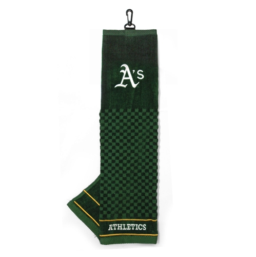Oakland Athletics Embroidered Towel