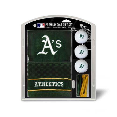 Oakland Athletics Embroidered Towel Gift Set
