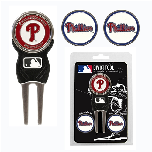 Philadelphia Phillies Divot Tool Pack