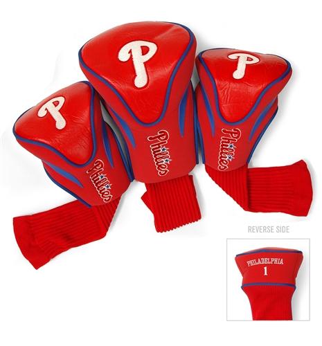 Philadelphia Phillies 3 Pk Contour Headcover Set