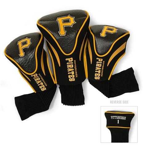 Pittsburgh Pirates 3 Pk Contour Headcover Set
