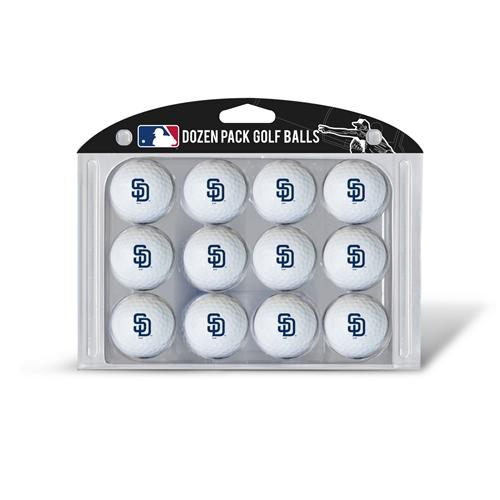 San Diego Padres Dozen Ball Pack