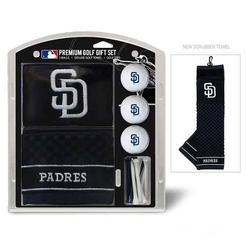 San Diego Padres Embroidered Towel Gift Set