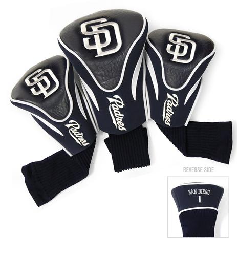 San Diego Padres 3 Pk Contour Headcover Set