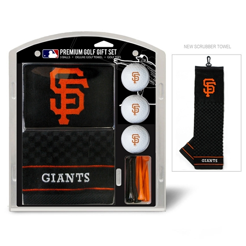 San Francisco Giants Embroidered Towel Gift Set
