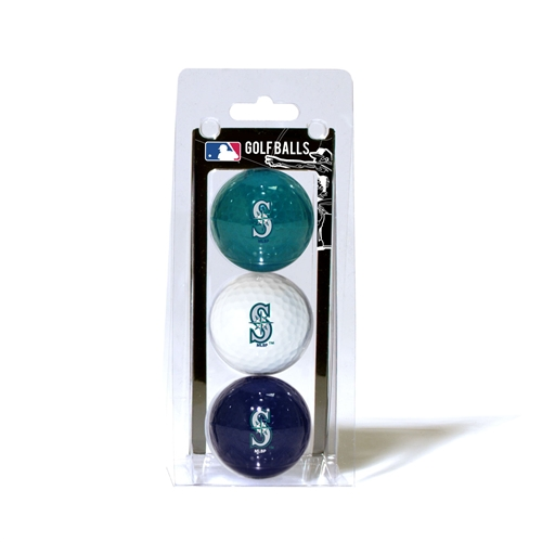 Seattle Mariners 3 Ball Pack