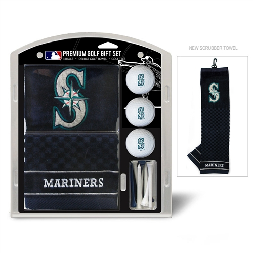 Seattle Mariners Embroidered Towel Gift Set