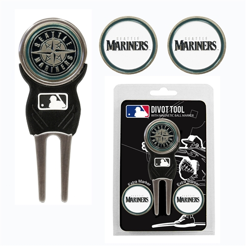 Seattle Mariners Divot Tool Pack