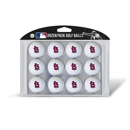 St Louis Cardinals Dozen Ball Pack