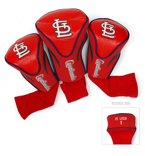 St Louis Cardinals 3 Pk Contour Headcover Set
