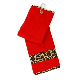 Leopard Golf Towel