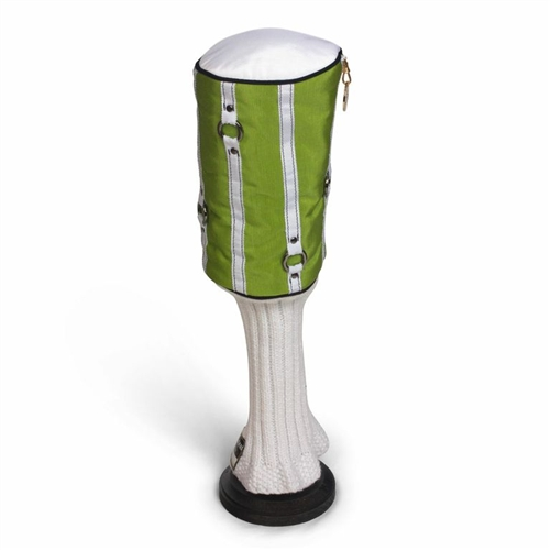 """""""Lipped Out"""" Lush Lime/White Headcover"""