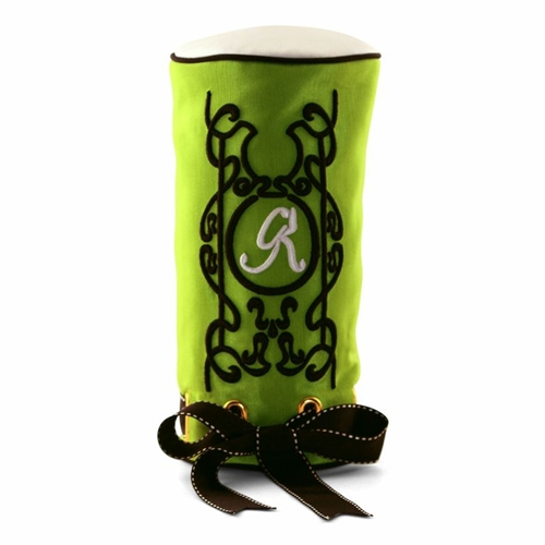 """""""Inlay on the Fairway"""" Lush Lime Headcover"""